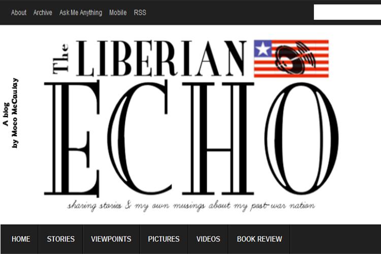 Old Liberian Echo Logo